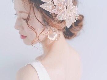 """インセンス(Encens)の写真/一生に一度の大切な1日は""""Encens""""におまかせ♪トータルケアができるからこそ、忙しい花嫁様にオススメ☆"""