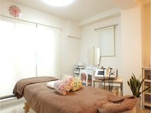 クーラ(INDIBA SALON cura)の雰囲気(完 全個 室のお部屋を2つ後用意しております。)