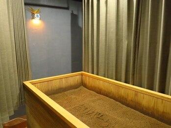 酵素浴5 ささしまライブ店の写真/【全国でも珍しい!メンズ大歓迎の酵素風呂♪】米ぬか100%の身体に優しい酵素風呂で疲れすっきり解消!