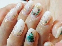 ビューティーサロン ルームフォーユー(Room 4U)/white X'mas nails
