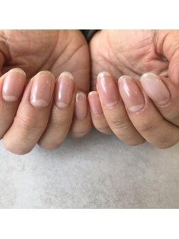 ネイルアトリエ ボン(nail atelier bon)/クリアネイル