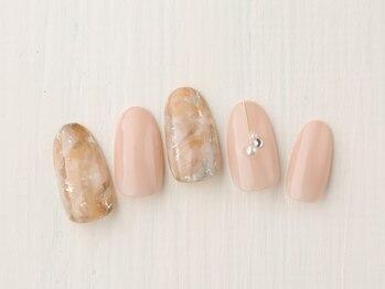 レイ ネイルアンドセレクトショップ(Lei Nail&Selectshop)/天然石風×大人ネイル