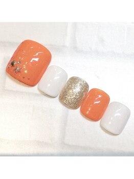 ライト ネイルズ ニシノミヤ(light nails NISHINOMIYA)/フッネイル☆7700円