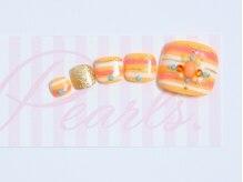 パールズ(Pearls)/ジューシーなオレンジボーダー