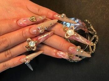 ネイルサロン リアンナ(LIANAH)の写真/【姉ageha掲載店】凄腕ネイリストが爪の形・大きさに合わせぴったりのデザインを提案!アート力は神レベル★