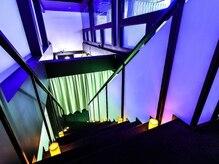 メリープ 心斎橋店(meleep)の雰囲気(──究極の非日常空間。壁にはプラネタリウム投影も──)