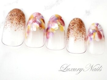 ラグジュアリーネイルズ カワグチ(Luxury Nails Kawaguchi)/ニュアンスデザイン*