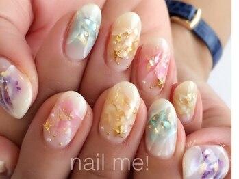 ネイルミー(nail me!)/シェルネイル