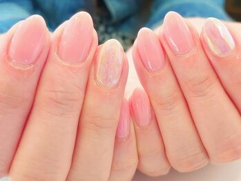スターリングネイル(Staring nail)の写真/【自他店オフ無料!!】ワンカラーorグラデーション¥4950~★Art付きも¥5500!上品できれいな指先に…♪