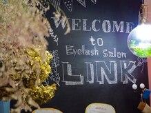 まつげエクステサロン リンク(LINK)の雰囲気(サロン内はスタッフみんなでデザインして手作りしました♪)