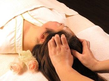 未来整体院の写真/【お試しヘッドスパ30分2200円~】凝り固まった頭皮をじっくりほぐしてリラックス♪つい眠ってしまう方も◎