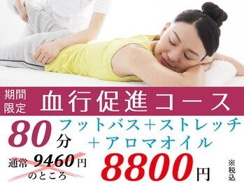 ルクラ イオンタウン金沢駅西本町店/【お得なク-ポン☆血行促進】