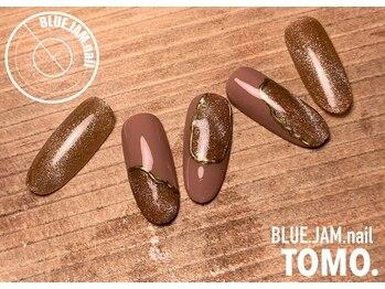ブルージャムネイル(BLUE.JAM.nail)/11月キャンペーンデザイン