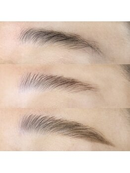 まつげエクステ専門店 ヴィーナスラッシュ 新宿店(Venus Lash)の写真/【ブロウラミネーション¥5,500~】化粧品登録されたセット剤で美しい毛流れに♪豊富なメニューをご用意◎