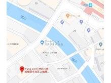 つるまる整体 町田/お店までのミニ地図です