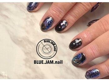 ブルージャムネイル(BLUE.JAM.nail)/FREEDOMコース☆art by YUKIKO