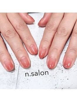 エヌサロン(n.salon)/パラジェルカラーグラデーション