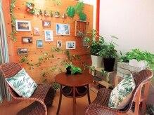 サリーダ(Salida)の雰囲気(まるでカフェのようなかわいい店内 ♪)