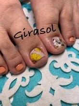 ヒラソル(girasol)/フットネイル