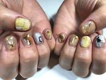 パルネイル(PAL nail)/黄ニュアンスネイル