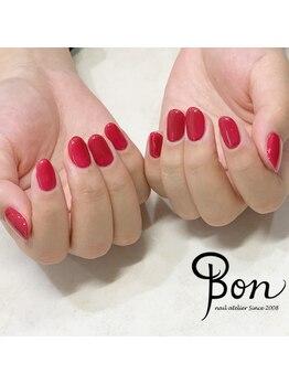 ネイルアトリエ ボン(nail atelier bon)/ワンカラーネイル♪