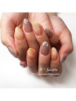 ビファセット 倉敷店(B facette)/大理石ネイル
