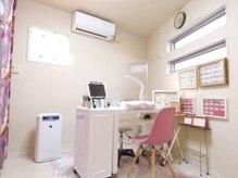 ネイルサロンポム(nail salon pom)の雰囲気(完全個室でプラズマクラスター搭載空気清浄機を全室に設置)