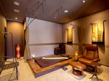 ノアボラーン(Noad Boran)の雰囲気(アロマ漂うラグジュアリーな個室で極上サロンタイムを―(*^^)v)