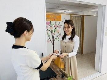パールプラス 四日市店(Pearl plus)/施術の流れ【6.お見送り】