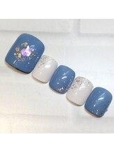ライト ネイルズ ニシノミヤ(light nails NISHINOMIYA)/フットネイル☆7700円
