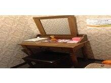 心と身体の癒し空間 フィール Nanak店(feel)の雰囲気(ドレッサールームやフィッテングルームをご用意しております)