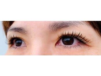 パールアイラッシュ(Pearl eye lash)/Cカール10、11、12目尻長め