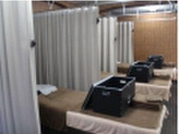 ほぐしの達人 秋葉原駅前店/ベッドは9台