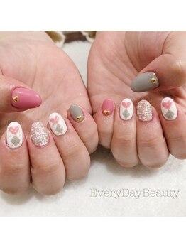 エブリディビューティー 吉祥寺店(Every Day Beauty)/冬の定番ツイード&アーガイル☆
