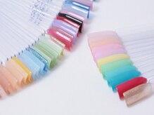 カラーの種類が豊富☆理想のふんわり感が出せる