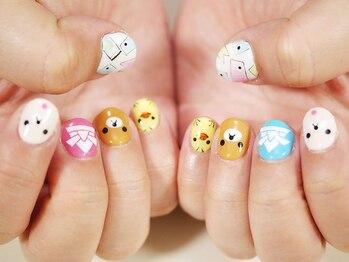 nail salon PISAR_デザイン_10
