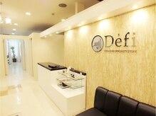 デフィ(Defi)の雰囲気(白を基調とした店内で、お寛ぎ下さい(^^♪)