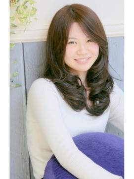【PLAISIRS】シナモンブラウン☆大人セミロング♪
