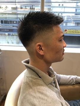 メンズヘア スキンフェード 刈り上げ ツーブロック