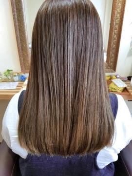 hair sosアッシュグレージュ♪グラデーションカラー。