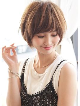 《Agu hair》大人かわいい小顔丸みショート