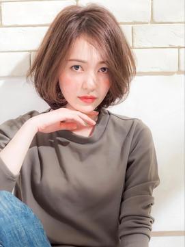 《Agu hair》エアリーな丸み女っぽショート