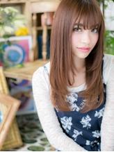 *+COVER HAIR+*…恋を仕掛ける…フェミニンストレートb 小悪魔.45
