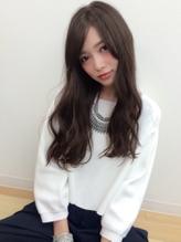 【Real 遠藤眞実】外国人風ダークグレージュカラー☆うぶバング カントリー.54