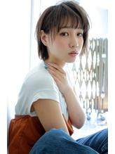 小顔&透明感が欲しい方へ☆ピュア甘ショートレイヤーボブ。.31
