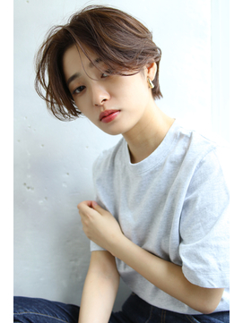 【Blanc/目黒】ダブルバング/ワンサイドショート/エッジショート