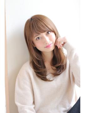 【GARDEN】短め前髪とワンカールが可愛いセミロング(田塚裕志)