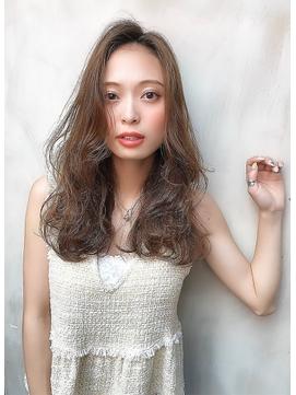 【Lond robin】伊藤ガク 20代30代/ヘルシー女子/前髪なし/ロング