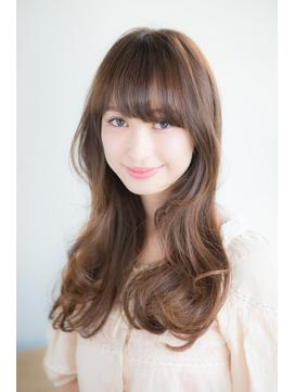【Ria 目黒】ふんわりバング×美髪ロング