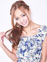 まるで海外セレブ☆安定の編み込みアレンジスタイル♪【新小岩】 カチューム.52